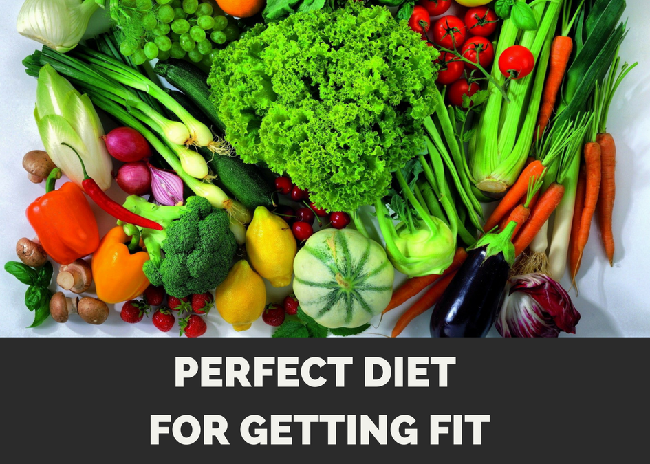Perfect Diet for Getting Fit While Maintaining Muscle Mass.
